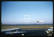 Orig 1956 Rbk Slide United Airlines & Other Aircraft At La Guardia Airport Nyc