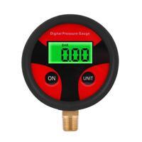 0-200PSI LCD manometro digitale pneumatici misuratore di pressione dell'aria air