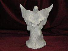Ceramic Bisque Small Angel with a Guitar U Paint Ready to Paint