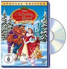 DIE SCHÖNE UND DAS BIEST - Weihnachtszauber DVD - Walt Disney - NEU Special Ed.