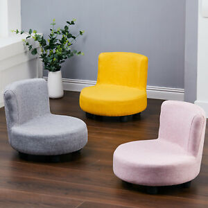 Rotund Small Sofa Tub Chair Armchair Backed Stool Kids Children Pouf Tubby Seat