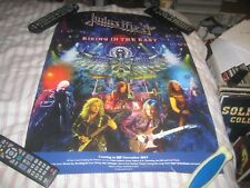 JUDAS PRIEST-(rising in the east)-1 POSTER-18X24 INCHES-NMINT-RARE!!!!