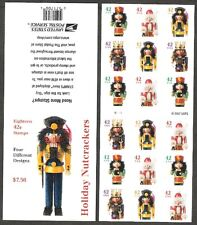 4371b 4370-4371  Holiday Nutcrackers ATM Booklet BC251  MINT NH