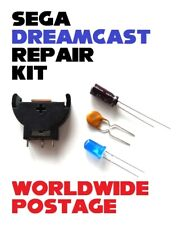 SEGA Dreamcast Repair / Mod Kit / Controller Port Fix / Battery Holder / LED etc