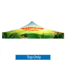 Custom FULL COLOR Printed Canopy Tent Top REPLACEMENT 10 x 10  Trade Show