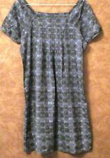 Robe BONOBO T38 - Robe tunique gris anthracite tout coton (1805050)