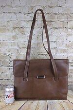 Vintage Genuine Leather Day Bag Briefcase Computer Bag Short Shoulder Handbag