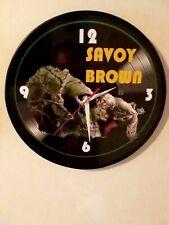SAVOY BROWN - LOOKING IN - 12 INCH QUARTZ WALL CLOCK/ BRAND NEW /HELLBOUND TRAIN