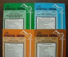 Spiritual Sword - Church of Christ - Thomas B Warren - VOL 18 4 Issues 1986-1987