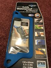 sea to summit tpu guide waterproof case for iphone 5 4 4s 3g 3gs Blue NEW