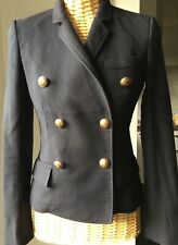 Veste noire jacket Joseph style Balmain 36 TBE