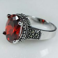 Garnet Red Fashion Jewellery