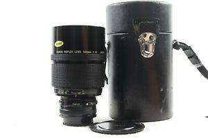 Canon 500mm F8 Reflex Mirror Lens With Case FD Mount -BB 805