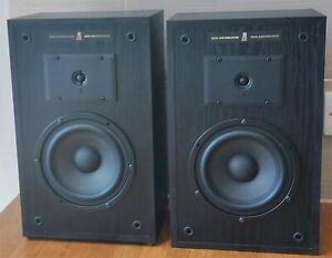 Vintage Acoustic Research AR8BX 75W 8 Ohms HiFi Speakers Black