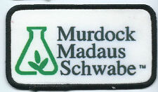 Murdock Madaus Schwabe employee patch 2-1/2 X 4-1/2 #205