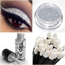Productos de maquillaje de ojos marrones de gel