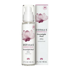 Derma E Overnight Peel with Alpha Hydroxy Acids 2 fl oz NIB