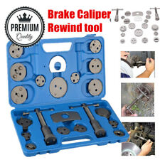 22pcs Disc Brake Caliper Piston Rewind Tool Kit Car Pad Wind Back Adapter Set UK