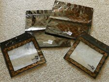 Makeup Cosmetic Travel Bags Zip Lock Closure Pouch Set of Four