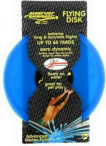 Wave Runner 6.0 AeroDynamic Flying Disk FRISBEE SUMMER FAMILY FUN - PICK COLOR