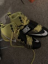 Nike Lunarbeast Strike Pro TD Men Football Cleats SZ 10 Yellow black BRAND NEW