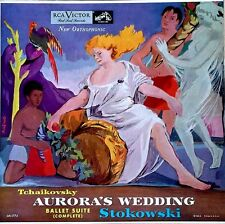TCHAIKOVSKY / AURORA'S WEDDING - STOKOWSKI - RCA 1774 - EARLY MAROON & SILVER LB
