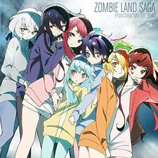 ZOMBIE LAND SAGA FranChouChou The Best First Limited Edition CD Blu-ray Japan