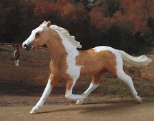 CM Breyer StableMate SM Custom Paint Palomino Standardbred Tobiano Mustang Horse