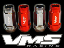 VMS RACING 20 48MM PREMIUM EXTENDED WHEEL LUG NUT 12X1.5 GUNMETAL ORANGE MIX GO3