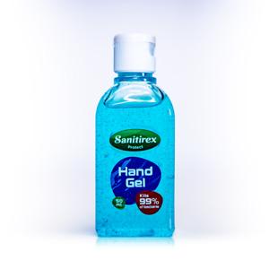 Hand Sanitizer Sanitiser Alcohol based Hand Gel 50ml Antibacterial UK Made