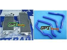 FOR Kawasaki KX125 KZ125 1990-1992  1990 1991 aluminum Radiator + hose