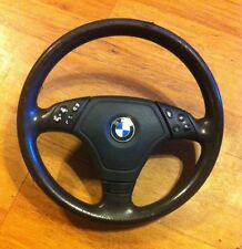 BMW E46 3-Spoke Multifunction Sport Steering Wheel OEM w/ Airbag up to 06/2000