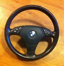 BMW E46 3-Spoke Multifunction Sport Steering Wheel OEM w/ Airbag up to 06/2000