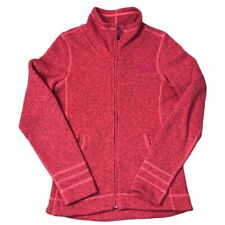 The North Face Sweater Fleece Jacket Women's Red Size Tag Small