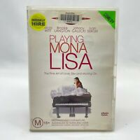 Playing Mona Lisa (DVD, 2000) Region 4 With Alicia Witt In Good Condition