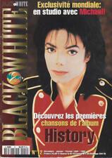 Michael Jackson Black & White #12 French FR Magazine Fanzine 1994