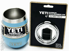 Yeti Rambler 10oz Wine Tumbler Reef Blue Cup 10 oz Lid Included Free Shipping