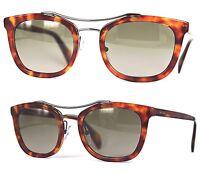 Prada Damen Sonnenbrille PR17QS 4BW-1X1 52mm havana braun 165 T1