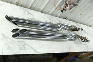 01 Honda GL 1500 GL1500 C Valkyrie 6 into 6 muffler pipe exhaust set right left