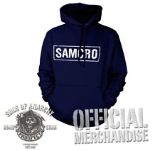 SAMCRO BANNER HOODIE OFFICIAL MERCH. SONS OF ANARCHY REAPER CREW