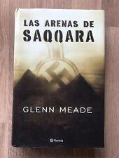 GLENN MEADE libro Las Arenas de Saqqara Ken Follet Le Carré Forsyth Tom Clancy
