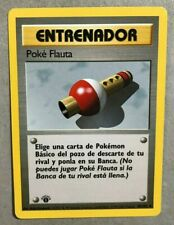 1st Edition Spanish Pokemon Flute 86/102 Base Set - Uncommon Pokemon Card - NM/M