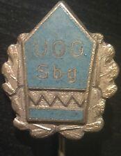 ✚2236✚ German enamelled pin badge UNKNOWN WW1 WW2 UOG Sbg STICKPIN