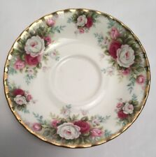 More details for royal albert celebration bone china saucer only made in england