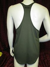 Physique Bodyware Soft Y-Back Stringer tank top Army Green (XL)