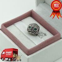 Pandora, Wise Owl, Bird, Bracelet Charm 791211CZN