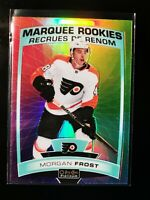 Morgan Frost 2019 O-Pee-Chee Platinum Marquee Rookies Rainbow Color Wheel Rookie