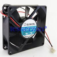 For SUNON KD1208PTS1-6 FAN 80X80X25mm 12VDC 2.6W