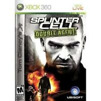 Tom Clancy's Splinter Cell Double Agent For Xbox 360 Very Good 4E