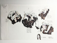 Mike Mignola Original Hand Drawn Blade II Storyboard Priest Death Scene Signed